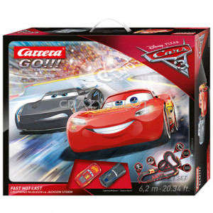 Carrera GO Disney Pixar Cars® 3 Fast Not Last Set