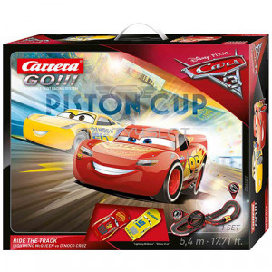 Carrera GO Disney Pixar Cars® 3 Fast Ride The Track