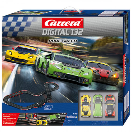 Pure Speed Digital Race Set