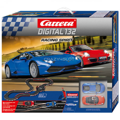 Racing Spirit Wireless+ Digital Race Set