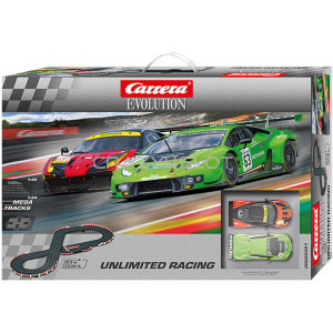 Carrera Evolution Unlimited Racing Race Set