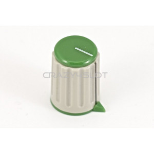 Green Potentiometer Knob