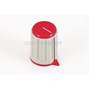 Red Potentiometer Knob