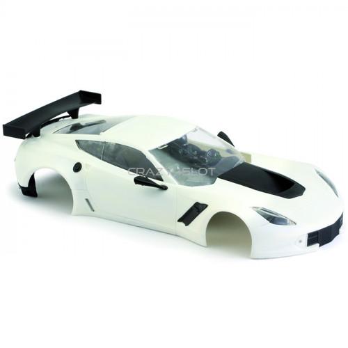Corvette C7R White Body Kit
