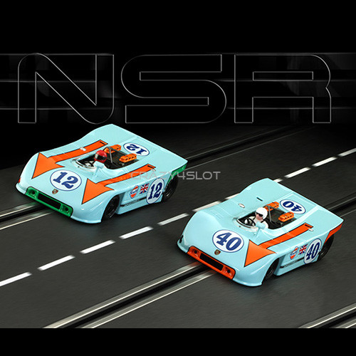 Set Porsche 908/3 Targa Florio 1970 Asso di Quadri