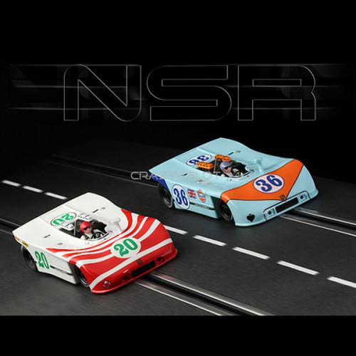 Set 2 di 2 Porsche 908/3 Targa Florio 1970