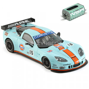 Corvette C6R Gulf Edition n.15 w/Baby King