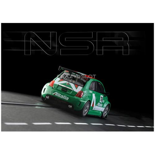 Fiat Abarth 500 Assetto Corse Alitalia n.78 Green