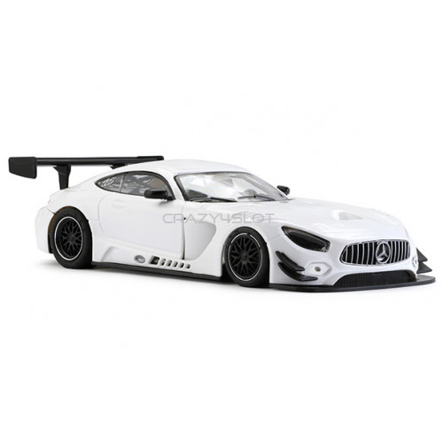 Mercedes AMG Test Car White AW King 21