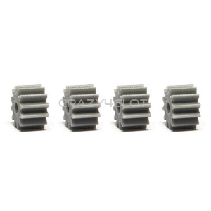 Anglewinder Grey Nylon Pinions 12 Teeth 7.5mm
