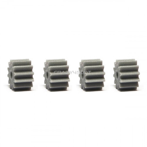 Anglewinder Grey Nylon Pinions 12 Teeth 7.5mm