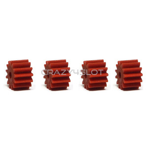 Anglewinder Red Nylon Pinions 13 Teeth 7.5mm