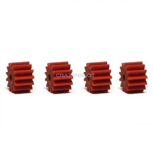 Anglewinder Red Nylon Pinions 13 Teeth 7.5mm