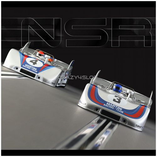 Set Porsche 908/3 Martini Racing Nurburgring 1971