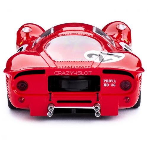 Ferrari 330 P4 n.21 2nd Le Mans 1967