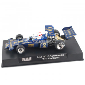 Lotus 72 n.2 South Africa Championship 1975