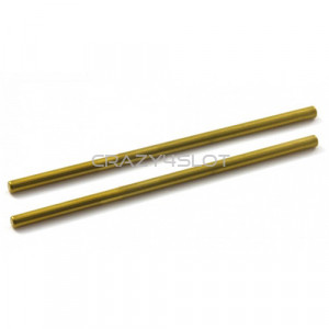 "Hard Golden Treatment Axles 3/32"" x 60 mm"