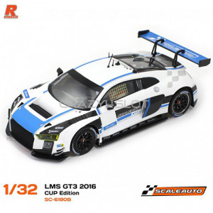 Audi R8 LMS GT3 2016 Cup Edition White Blue