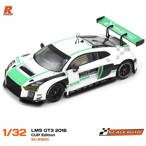 Audi R8 LMS GT3 2016 Cup Edition White Green