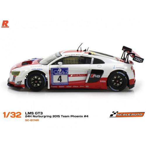 Audi R8 LMS GT3 n.4 24h Nurburgring 2015 Team Phoenix