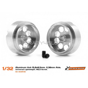 Aluminium Light Weight Wheels 15.8 x 8.5mm