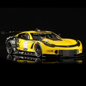 Corvette C7R GT3 Club Edition Yellow And Black