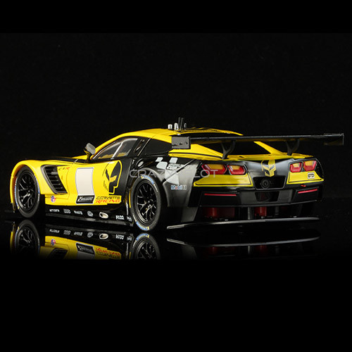 Corvette C7R GT3 Club Edition Yellow And Black