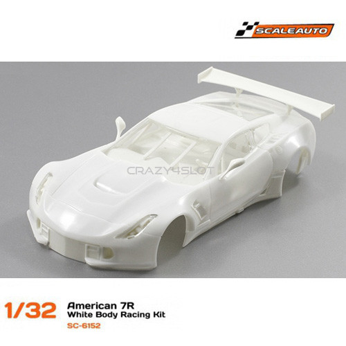Corvette C7R White Racing Kit