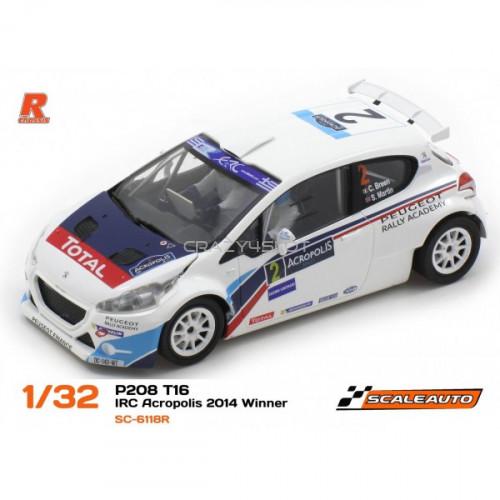 Peugeot 208 T16 Rally Acropolis 2014 Winner