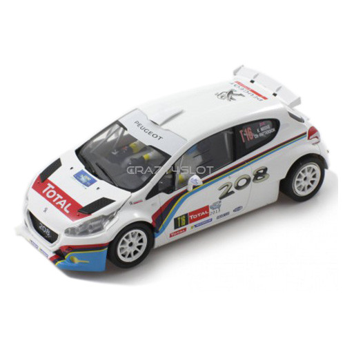 Peugeot 208 T16 Rally Ypres 2013
