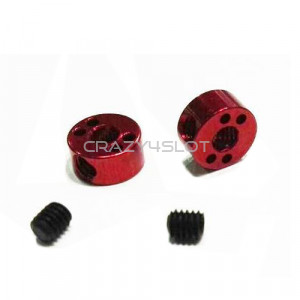 Red Lightened Axle Stoppers