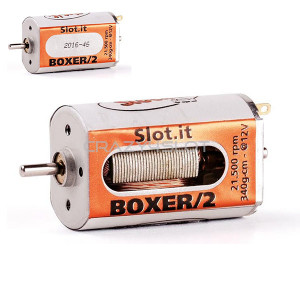 Boxer/2 21.500 rpm Open/Closed Can Motor