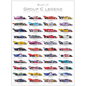 Poster Slot.it Group C Legend 2011-2017 Signed
