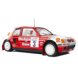 Peugeot 205 T16 Evo1 Belga Rally Ypres 1985