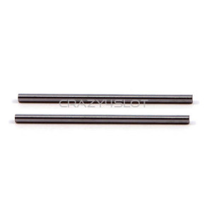 "Hard Steel Axles 3/32"" x 49mm"