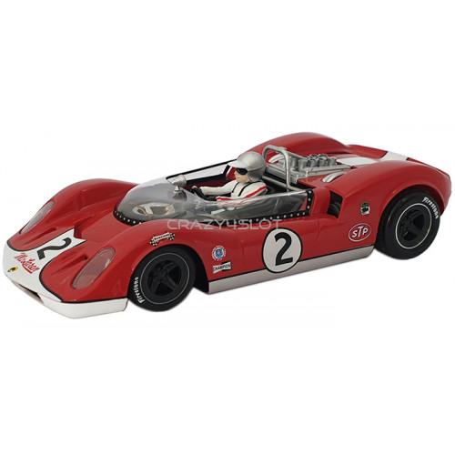 McLaren Elva Spider  MkI Can-Am n.2 Riverside 200 miles