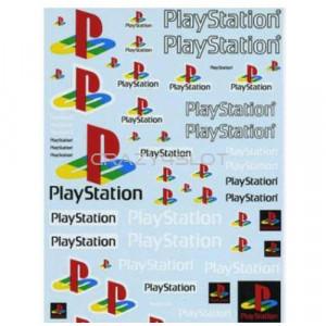 PlayStation Waterslide Decals 1:43