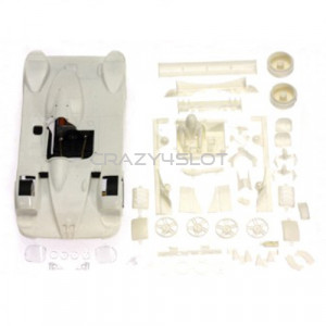 BMW V12 LMR White Racing Kit Inline