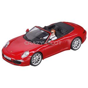 Porsche 911 Carrera S Cabriolet Red