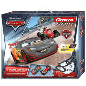 Carrera GO Disney Pixar Cars® Carbon Drifters Set