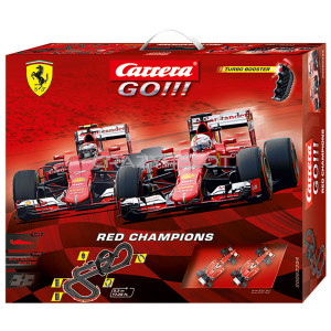Carrera GO Red Champions Set