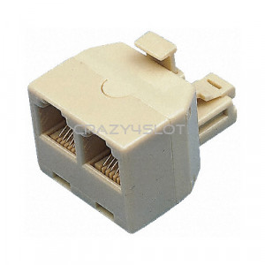 iST RJ45 Splitter Connector Plug