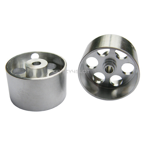 Ergal Hubs 21x13mm for Sponge Tires