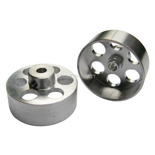 Ergal Hubs 21x8mm for Sponge Tires