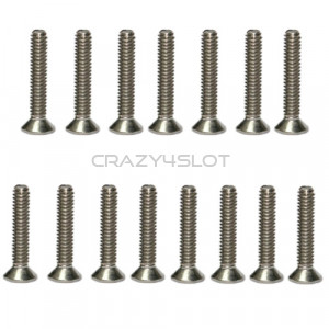Stainless Steel Phillips Head Screws M2 x 16mm