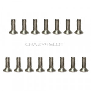 Stainless Steel Phillips Head Screws M2 x 4mm