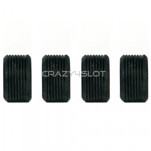 Ribbed Tyres 19 x 10 mm