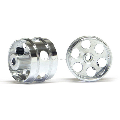 2mm Ultimate Wheels Reduced 16'' Air System & Drilled Holes