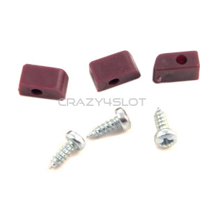 Plastic Cups & Screws for Triangular Motor Mounts