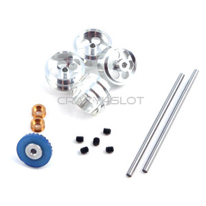 Front & Rear Pro Axle Kit Inline